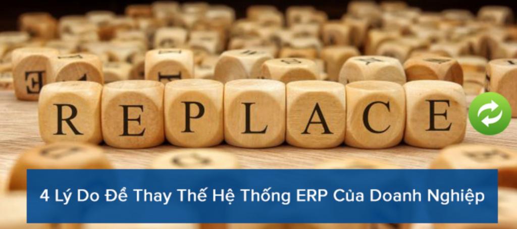 Lý do phải đầu tư hệ thống ERP mới